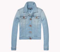 Jeansjacke aus Baumwoll-Mix