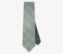 Seiden-Krawatte mit Glencheck