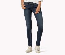 Skinny Fit Jeans mit ultra-niedrigem Bund
