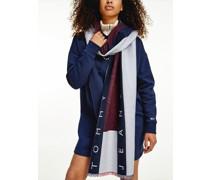 Schal aus reiner Baumwolle mit Flag