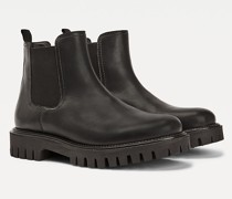 Casual Chelsea-Boot mit klobiger Sohle