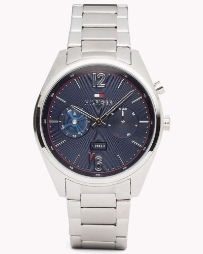 Deacan Edelstahl-Armbanduhr