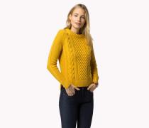Zopfstrick-sweater