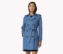 Mantel Aus Gewalkter Wolle