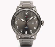 Armbanduhr Mit Metallarmband