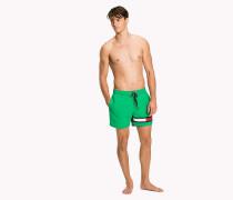 Flag Leg Swim Shorts
