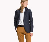 Slim Fit Woll-Blazer