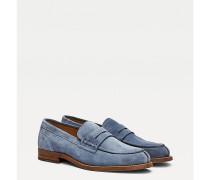 Slipper-Loafer aus Wildleder