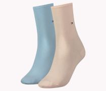 2er-pack Socken Aus Baumwoll-mix