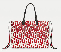 Iconic Tote-Bag mit Kontrast-Design