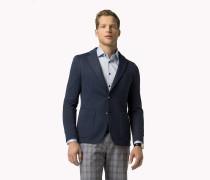 Taillierter Blazer aus Baumwoll-Mix