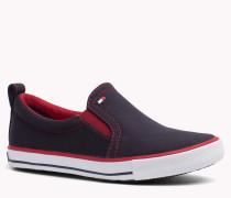 Low-cut-sneakers Aus Gewebe