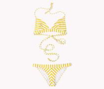 Gestreifter Bikini von Gigi Hadid