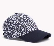 Baumwoll-Kappe mit Print