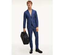 TH Flex Solid Slim Fit Anzug