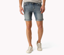 Scanton Slim Fit Denim-shorts