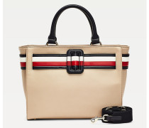 Chic Signature Satchel