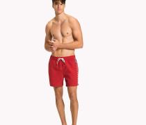 Logo Leg Swim Shorts