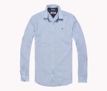 Seersucker-Hemd aus Baumwolle