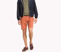Regular Fit Shorts mit Mikroprint