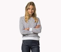 Logo-sweatshirt Aus Baumwolle Von Gigi Hadid