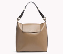 Minimalistische Hobo-bag Aus Leder