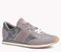 Sneakers Im Wildleder-mix