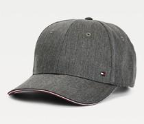 Baseball-Cap mit Tommy-Tape am Schirm