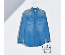 Gigi Hadid Denim-Hemd