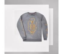 Sweatshirt Mit Ankermotiv