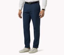 Slim Fit Trousers Aus Baumwoll-mix