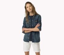 Denim-hemd Im Western-look