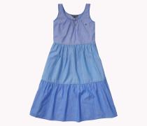 Kleid Aus Baumwoll-chambray