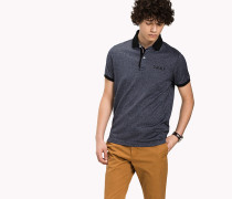 Jacquard Slim Fit Poloshirt