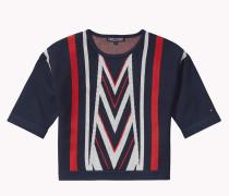 Wendbarer Jacquard-sweater