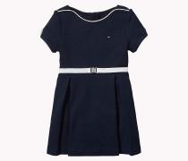 Kleid mit Bateau-Ausschnitt