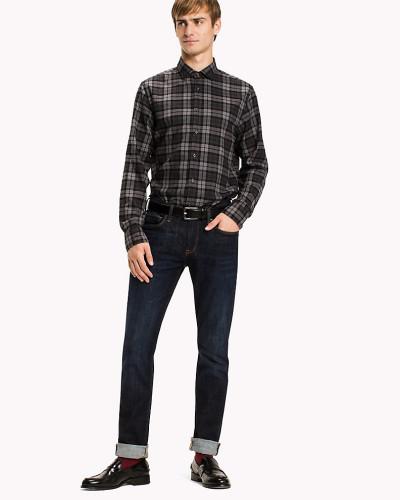 Tailliertes Hemd aus Baumwolle