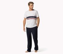 Kurzärmliges Pyjama-set Aus Baumwolle