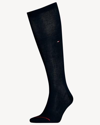 Kniehohe Socken aus Baumwollmix