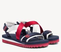 Sandale mit mehreren Riemen