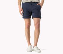 Twill-shorts Aus Baumwoll-stretch
