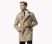 Taillierter Trenchcoat aus Baumwolle