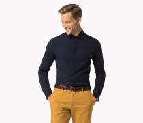 Slim Fit Baumwollhemd