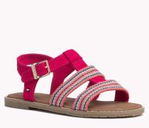 Sandalen Aus Gewebemix