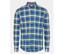 Hemd aus Bio-Baumwolle mit Schottenkaro