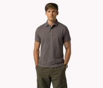 Luxuriöses Slim Fit Poloshirt