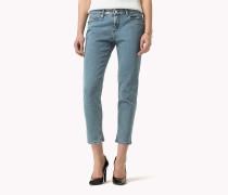 Kurze Jeans in schmaler Passform