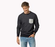 Rundhals-sweatshirt Aus Baumwoll-mix