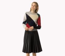 Sweater Aus Mohair-mix Mit Argyle-muster