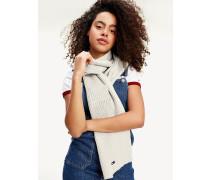 Rippstrick-Schal aus Bio-Baumwolle